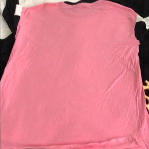 PINK Victoria's Secret Tops - Pink Bling Long-Sleeve Tee💕